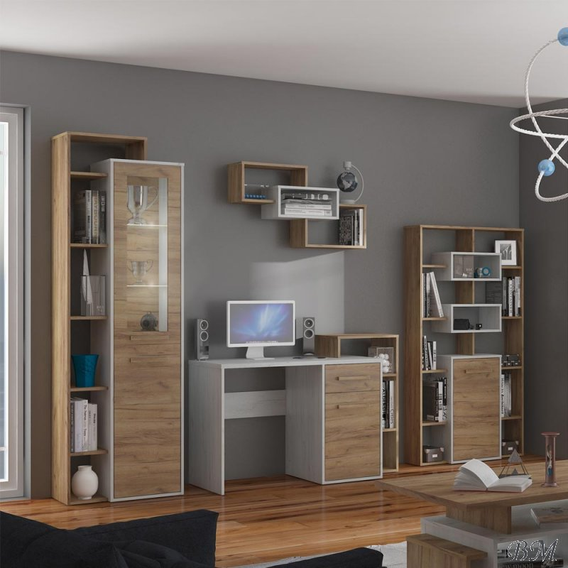 Купить Мебель - секция - 8 - MEBLOCROSS - Подростковые, молодежные комплекты - Польша - RIO - Sekcija neo pl