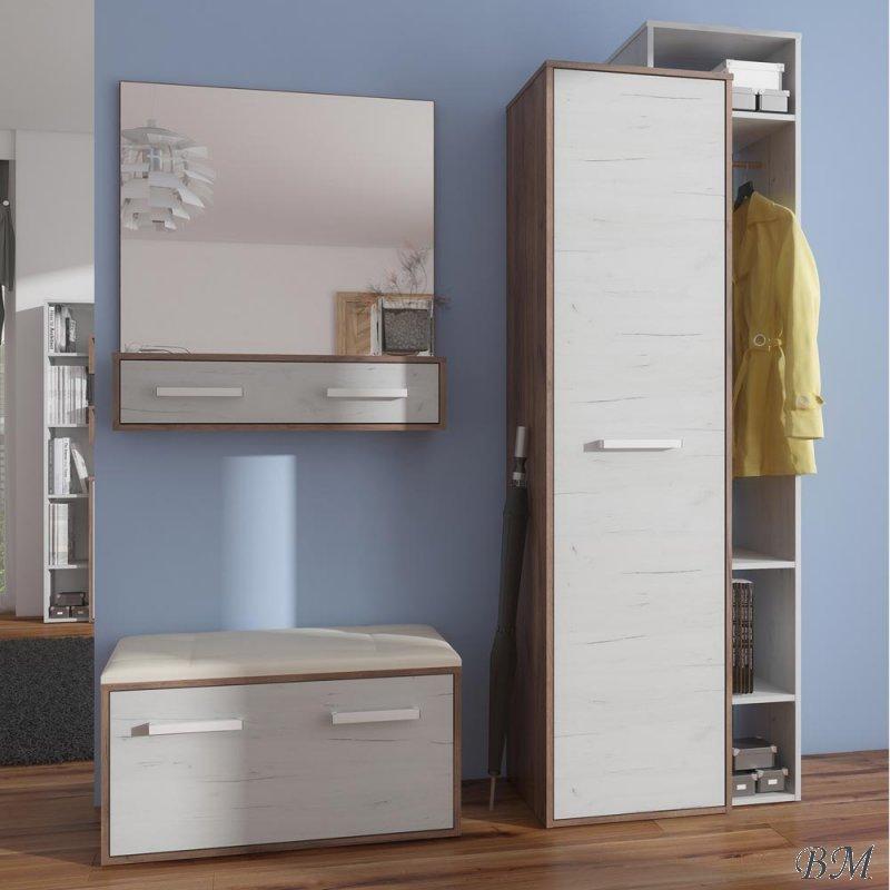 Купить Мебель - прихожей - MEBLOCROSS - Прихожии, мебель в коридор - RIO - для - комплект - 11 - Польша - Комплект clik