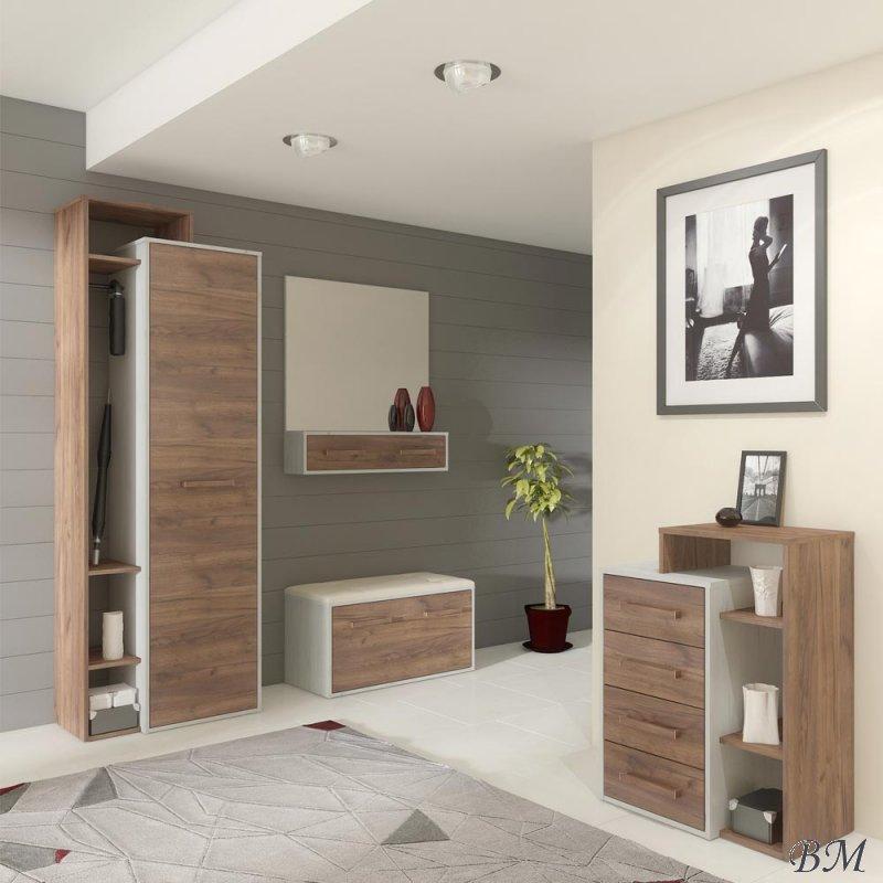 Купить Мебель - прихожей - комплект - Польша - RIO - для - 12 - MEBLOCROSS - Прихожии, мебель в коридор - Комплект selena