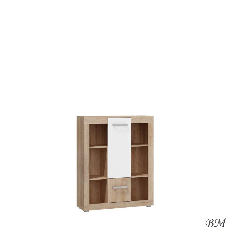Купить Мебель - VIK-03 - Польша - Viki - стеллаж - Стеллажи Этажерки - MEBLOCROSS - Угловой стеллаж