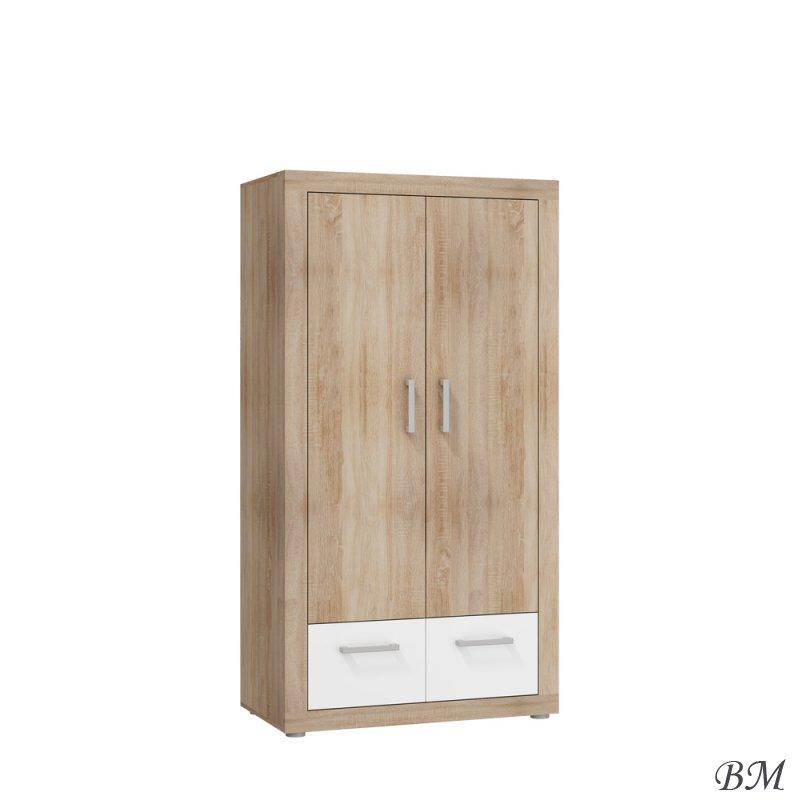 Купить Мебель - Viki - шкаф - MEBLOCROSS - Шкафы двухдверные - ТВ - VIK-05 - Польша - Шкаф эко