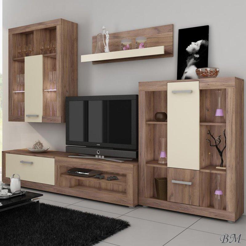 Купить Мебель - Польша - VIKI - секция - Секции для гостинной Модерн - MEBLOCROSS - Секция tip