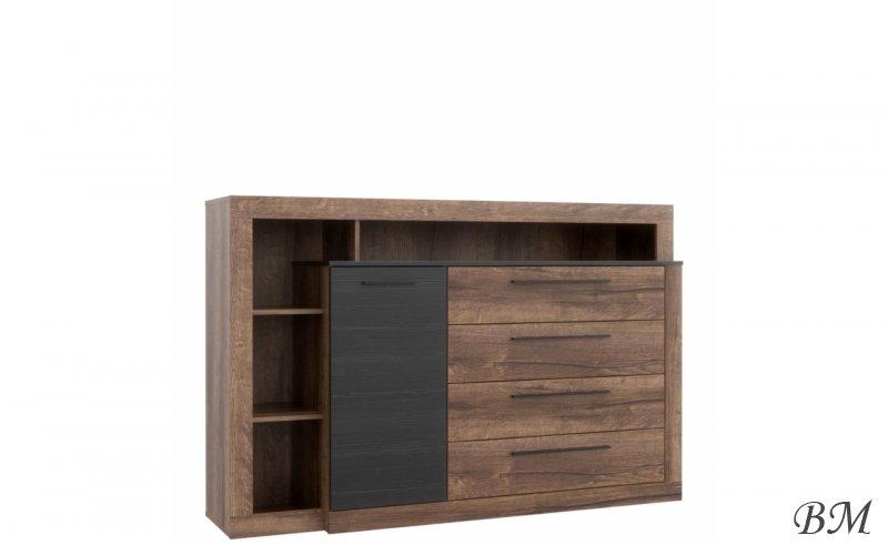 Купить Мебель - Bellevue - Польша - BLQK351L - левый - Forte - Комоды - комод - Комод 10