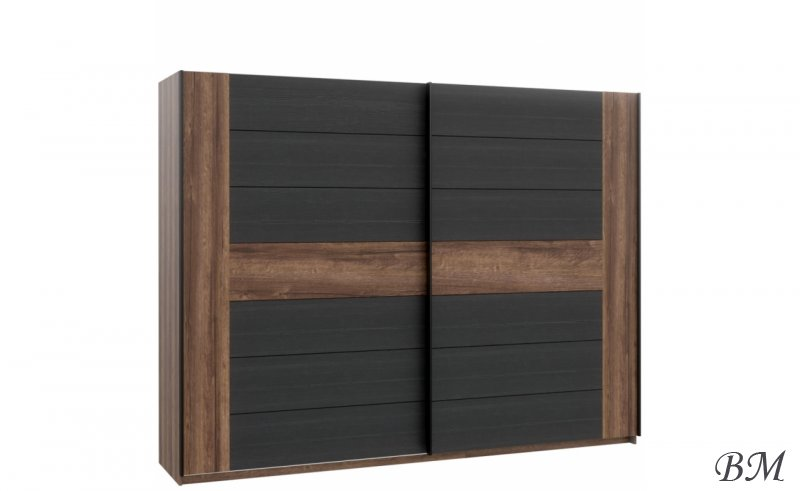 Купить Мебель - BLQS128E1 - Шкафы с раздвижными дверями - Forte - шкаф - Bellevue - Польша - раздвижной - Шкаф шкаф купе 4 х дверный цвет махонь