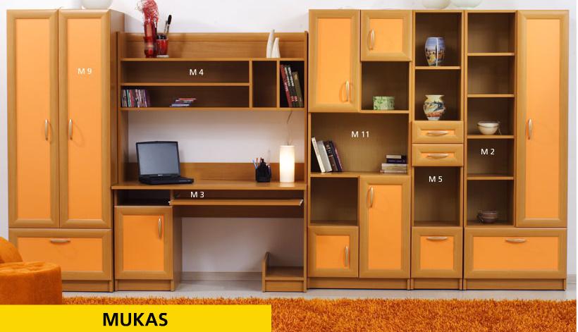 Купить Мебель - Mukas - Sofa - Секции молодежные, подростковые - 2 - Польша - Польская детская мебель mukas
