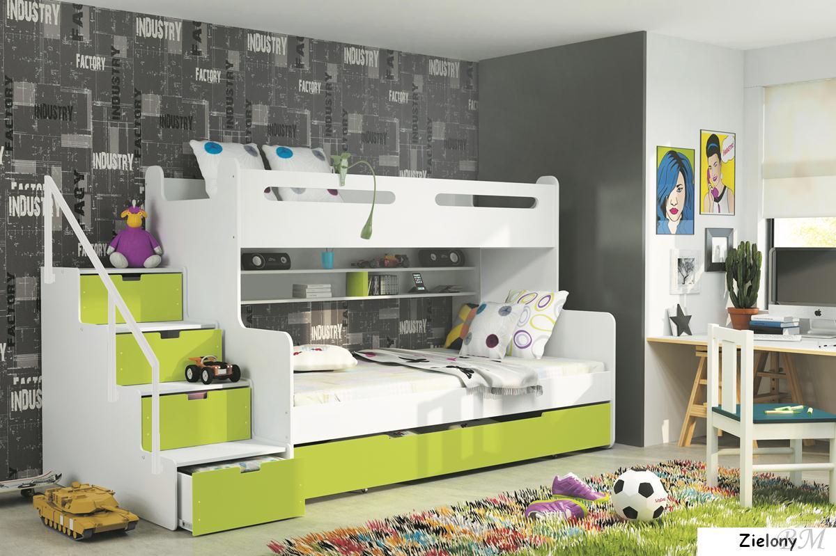Купить Мебель - кровать - MAX - 3 - BMS Group - детская - Кровати двухъярусные - Польша - Детская кровать 170 см