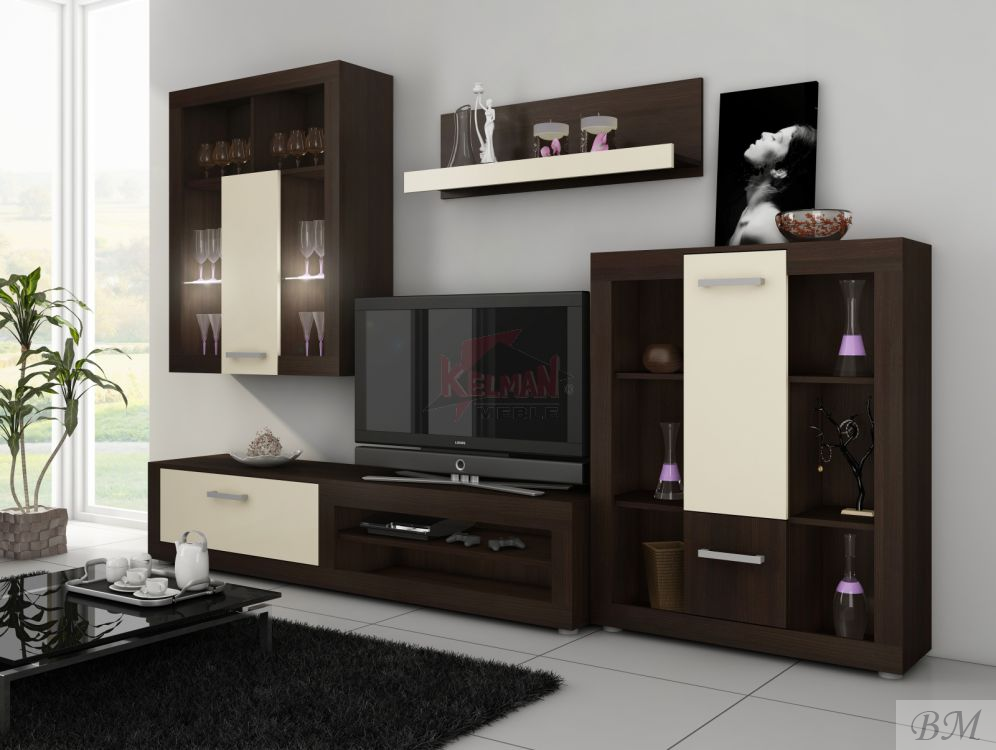 Viki furniture in a drawing room modern wall units for Furniture made in poland